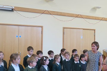 Choir Singing at St Andrew's Church