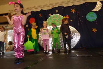 Early Years Christmas Production