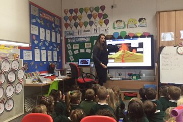 Learning About Mount Etna's Eruption