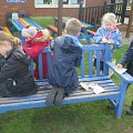 School Council Sanding Benches