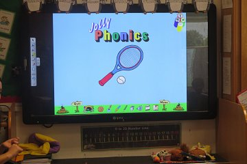 Jolly Phonics in Reception