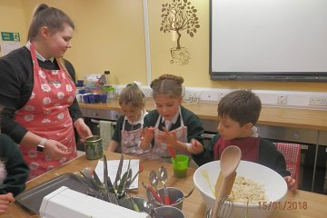 Cookery Club Spring Term 3
