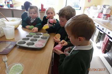 Cookery Club - Last one for the year